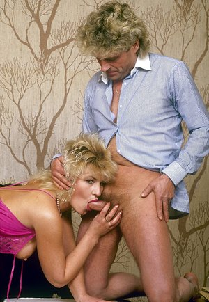 Blonde classic hairy pussy