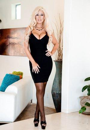 Busty Blonde Bridgette B's Butt Boned