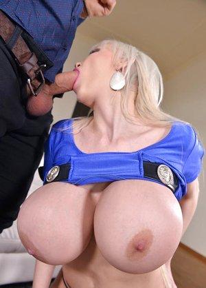 Big Busty Birthday Present: Giant Tits Get..